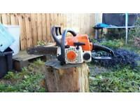 Stihl ms170 chainsaw