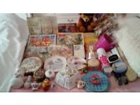 Job lot of approx 50 Car Boot Sale items. Including many Vintage.