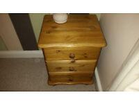 Pine Bedside Cabinets x 2 Excellent order