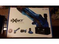 Exact EC18V battery mini saw