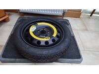 Brand new VW spacesaver tyre 125/70 R16
