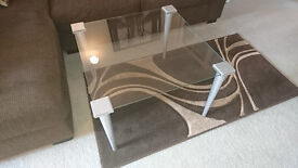 Pair of Glass Coffee / Lounge Tables