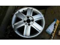 Renault Megane 16 inch 4 stood aluminum wheels