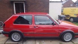 j reg golf gti very clean rare not many left old school may swap or part x