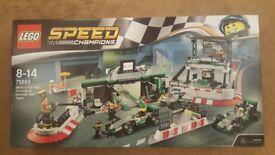 LEGO Speed Champions 75883 Mercedes Amg Petronas Formula One Team NEW
