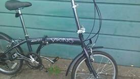 Viking Avenue 6 speed folding bike
