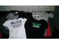 Various mens S/M size tops
