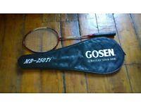Gosen badminton racket