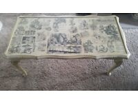 coffee table, table, alice in wonderland, shabby chick