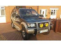 Mistubishi Pajero 2.8D LWB Auto Ltd 140k good runner, long MOT, mint interior, great spec, extras