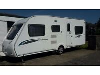 Sterling Europa 565 (2010), motor-mover & awning