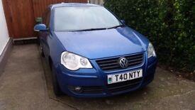 2005 (55 plate) Volkswagen Polo 1.4 S 75