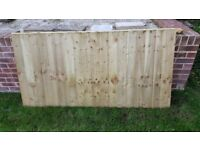 Fence panel brand new 6x3 foot