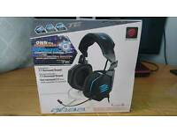 Mad Catz F.R.E.Q. 7.1 Surround sound gaming headset for PC PS4 XBOX ONE