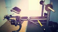 multi purpose weight bench for sale