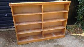 Old pine bookshelf - Large