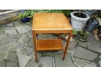 Vintage two shelve hall table