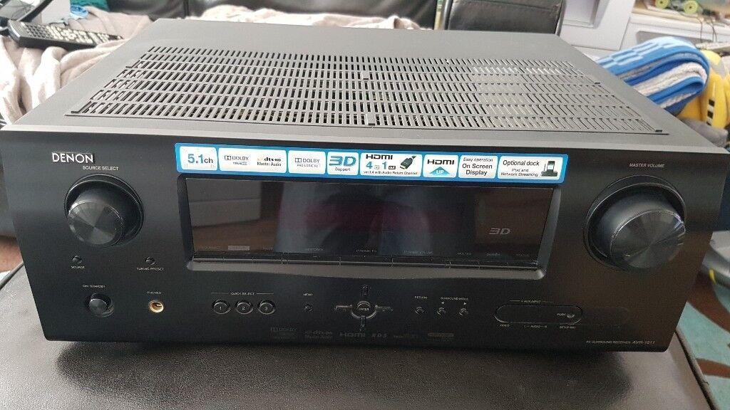 Denon AVR 1611 5.1 surround sound AV Receiver