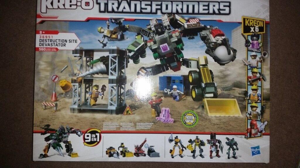 Transformers Kreo Sets