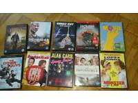 Selection of 10 dvds