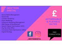 Affordable Digital Marketing & Social Media Specialist