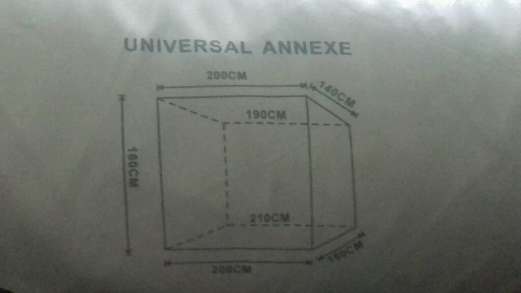 Universal annexe
