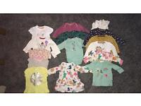 Large baby girl bundle. New born and 0-3.