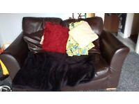 Free to a good home corner and 2 seater sofa