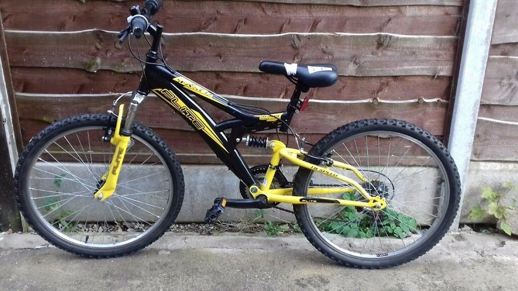 Flite Taser 14 Inch Dual Suspension Bike - Boys. USED - RRP £180