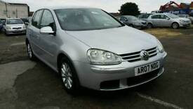 2007 VOLKSWAGEN GOLF TDI 1.9 DIESEL , , 1 YEAR MOT , , EXCELLENT RUNNER , , CHEAP CAR