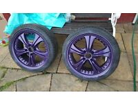 Oxigin alloys purple