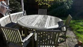 Fabulous garden table set