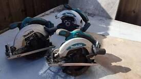 Makita circular saws x2