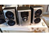 Sony 3 CD Stereo Hi-Fi System