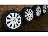BMW 1 Series steel Wheels and Winter Tyres and Composite Snow Chains