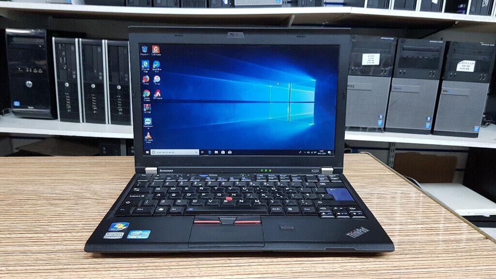 Lenovo Thinkpad x220 Core i5-2520M 2 5GHz 4GB Ram 500GB HDD Win 10 Laptop    in Haringey, London   Gumtree