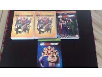 Big bang theory dvds