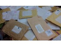 Padded envelopes - ready for re-use