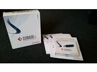Cubase 5 Music Production Software (genuine copy): boxed with manuals, e-licenser & activation codes