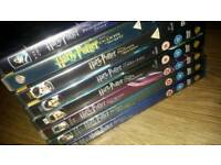 Harry Potter 14 disc DVD collection.
