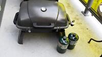 Portable Gas BBQ one time used