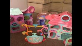 Littlest pet shop and houses