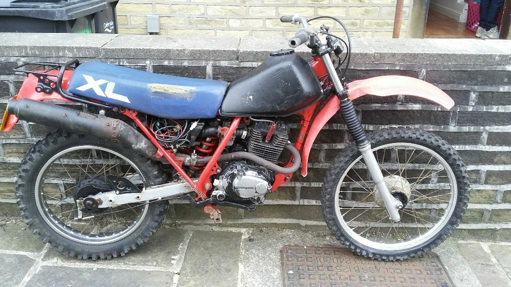 Honda Xl125rc Road Legal Project Swap In Halifax West