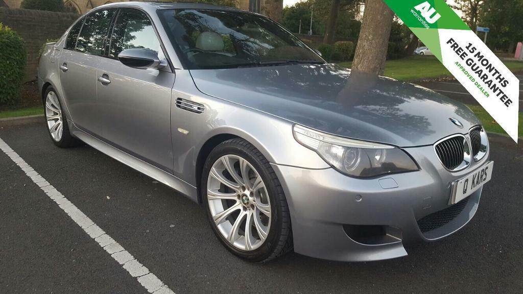 2005 (05) BMW M5  SMG Saloon / 83k FSH / immaculate / fully specced / 12 months MOT