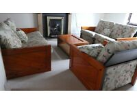 Original Pablo designer furniture - sofas, armchair, coffee table, dining table, cabinet