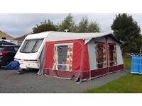 Swift challenger 400se anniversary edition with full awning and accessories