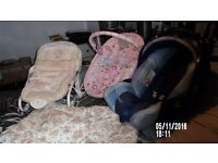 TWO BABY ROCKERS A CASEAT AND A CHANGING MATT PRICED FOR QUICK SALE
