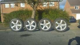 "Audi genuine alloy wheels ""20"" inches"