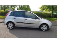FORD FIESTA 1.4 TDCi Style 5dr [Climate] �30 Tax A Very Nice Clean Car Fully Warranted (silver) 2008