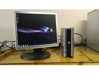 "Dell 755 Ultra Small Computer Tower PC & 17"" LCD - Last ONE Bargain - Save £25"